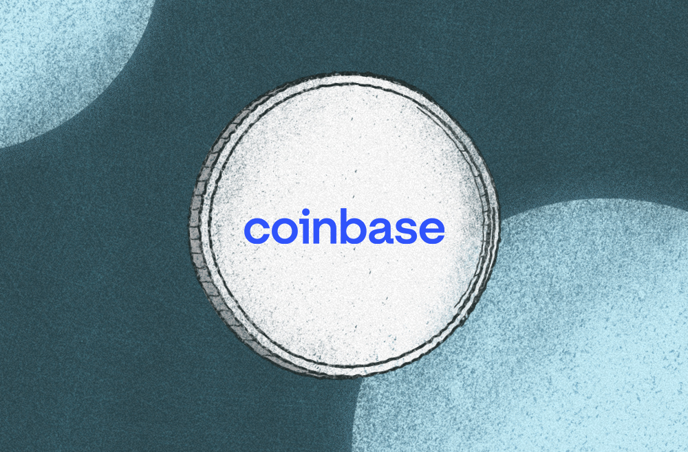 Image to accompany review of cryptocurrency exchange Coinbase